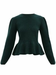 Rodarte - Ruffled Lace Blouse - Womens - Pink Multi