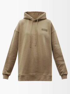 Charles Jeffrey Loverboy - Teddy Tartan Cotton Shirt - Womens - Blue Multi