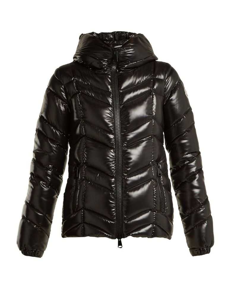 Moncler - Fuligule Quilted Nylon Jacket - Womens - Black