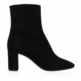 Saint Laurent Zipped Ankle Boot