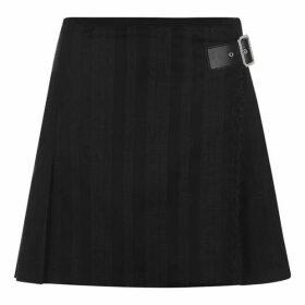 McQ Alexander McQueen Kilt Pleat Mini Skirt