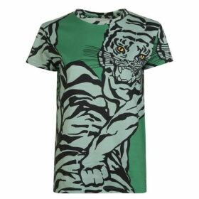 Valentino Tiger Crew Neck T Shirt
