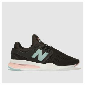 New Balance Brown 247 V2 Pop Trainers