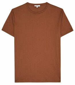 Reiss Bless - Crew Neck T-shirt in Copper, Mens, Size XXL