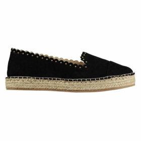Firetrap Sukie Ladies Espadrilles Shoes - Black