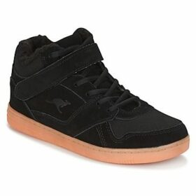 Kangaroos  SKYLINE SUEDE  women's Shoes (High-top Trainers) in Black