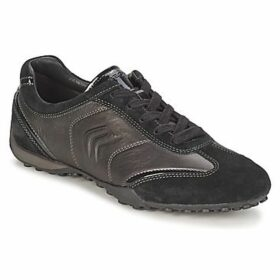 Geox  D SNAKE  women's Shoes (Trainers) in Black