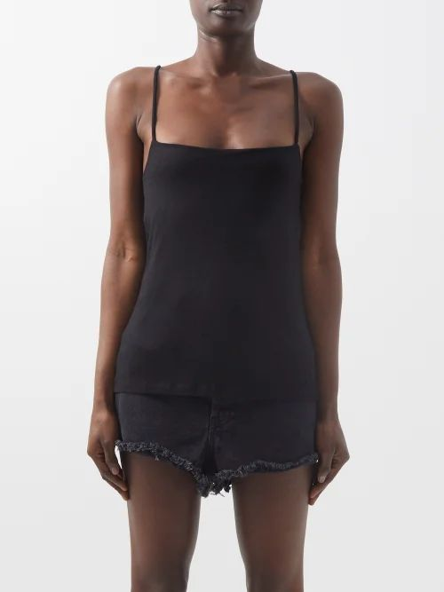 Gucci - Houndstooth Wool Blend Trousers - Womens - Red Multi