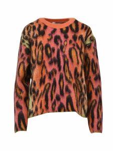 Stella McCartney Fluo Spotted Crewneck Sweater