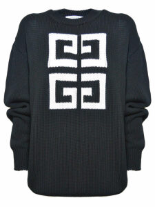 Givenchy Logo Patterned Sweater