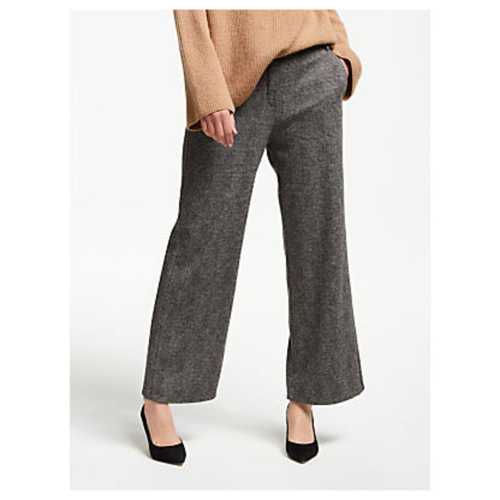 Weekend MaxMara Segnale Herringbone Trousers, Grey