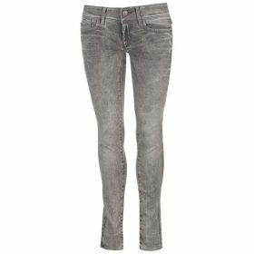 G Star Lynn Mid Skinny Jeans - marble wash