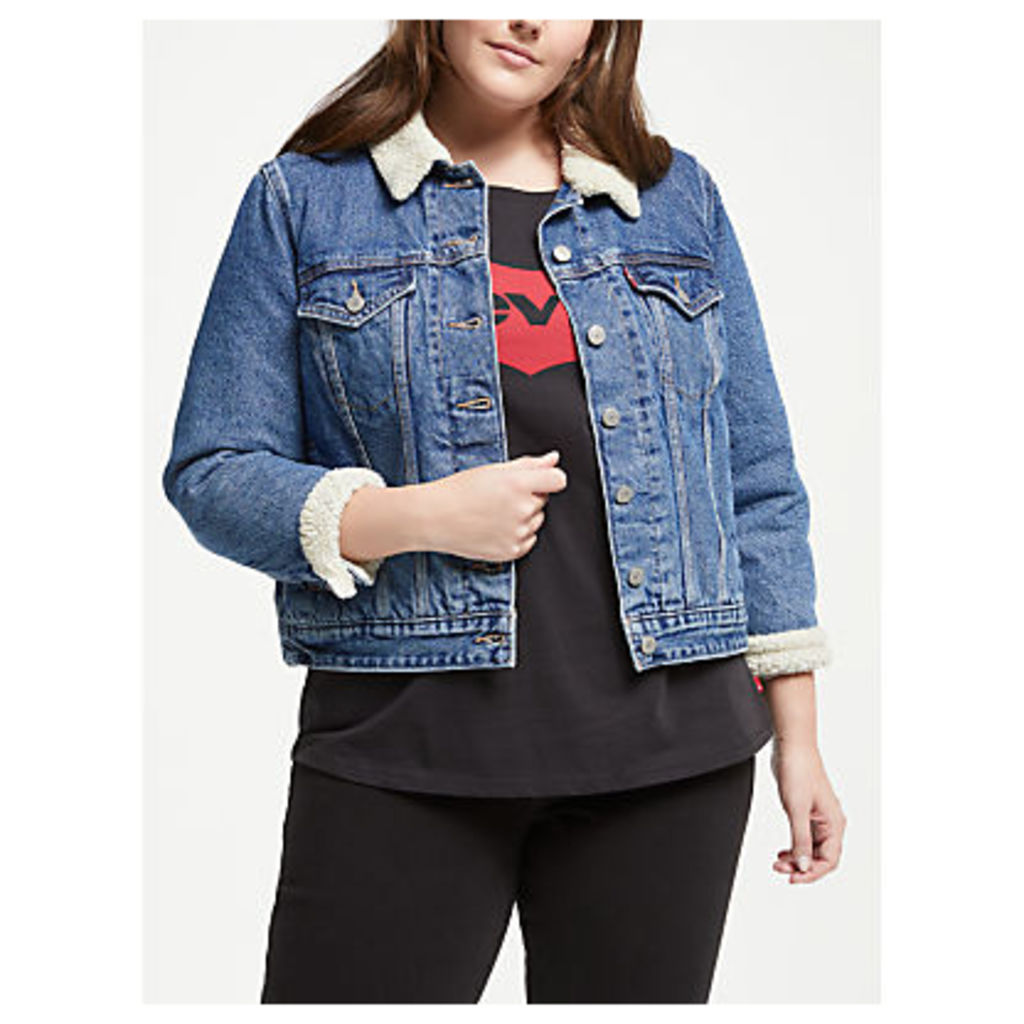 Levi's Plus Sherpa Trucker Jacket, Extremely Wearable