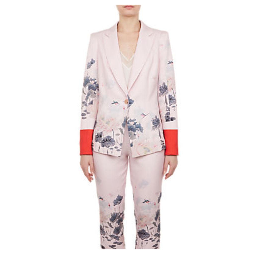 Ted Baker Naimh Lake Of Dreams Tailored Jacket, Pink