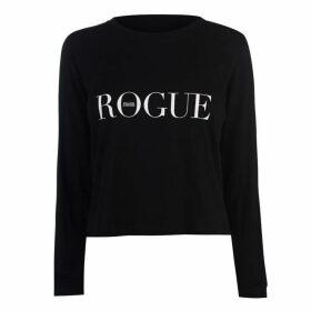 Swallows and Daggers Rogue Crop Long Sleeve T Shirt