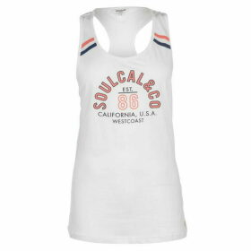 SoulCal Mesh Vest Top - White