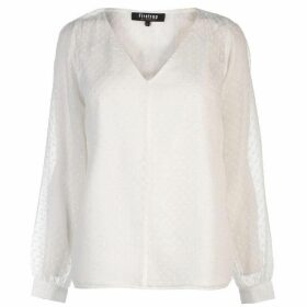 Firetrap Peasant Blouse - Off White