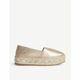 Oceradda leather espadrille shoes