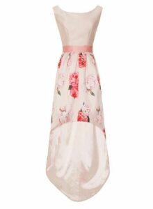 Womens *Chi Chi London Pink Digital Floral Print Skater Dress, Pink