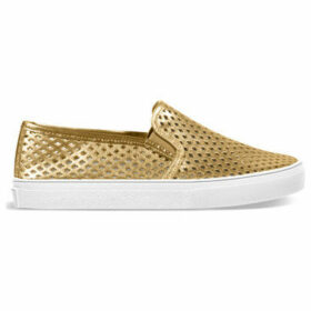 Jibs Life  Slippers  women's Slip-ons (Shoes) in Gold