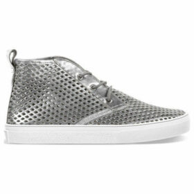 Jibs Life  Slippers  women's Shoes (High-top Trainers) in Silver