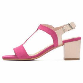 Cuplé  Heeled sandals  women's Sandals in Pink