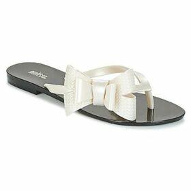 Melissa  HARMONIC  women's Flip flops / Sandals (Shoes) in White