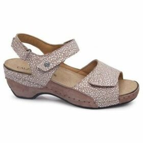 Calzamedi  S  GLAM 0656  women's Sandals in Beige