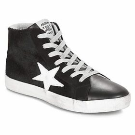 Meline  GAL  women's Shoes (High-top Trainers) in Black