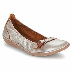 TBS  MALINE  women's Shoes (Pumps / Ballerinas) in Gold