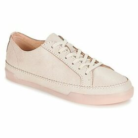 Clarks  Hidi Holly  women's Shoes (Trainers) in Pink