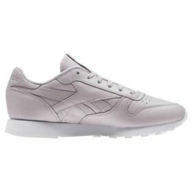 Reebok Sport  Classic Leather  women's Shoes (Trainers) in Purple
