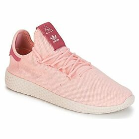 adidas  PW TENNIS HU W  women's Shoes (Trainers) in Pink