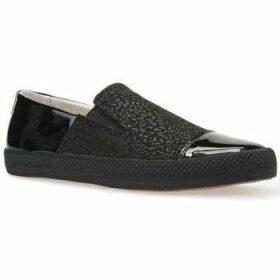 Geox  D Giyo B Black  women's Slip-ons (Shoes) in Black