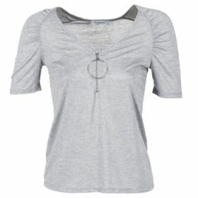Morgan  DOULA  women's T shirt in Grey