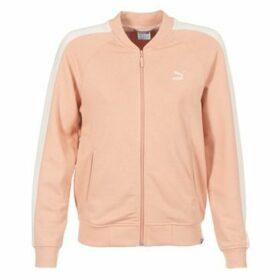 Puma  CL LOGO T7 TRACK JKT  women's Sweatshirt in Pink