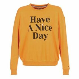 Tommy Jeans  TJW HAVE A NICE DAY SWEATSHIRT  women's Sweatshirt in Yellow