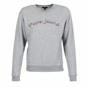 Pepe jeans  MOMO  women's Sweatshirt in Grey