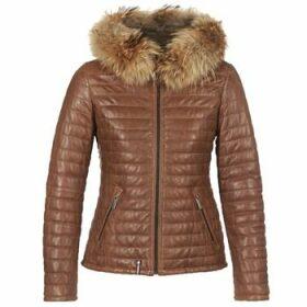 Oakwood  HAPPY  women's Jacket in Brown
