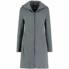 De La Creme  Cashmere Wool Hooded Winter Coat  women's Coat in Grey