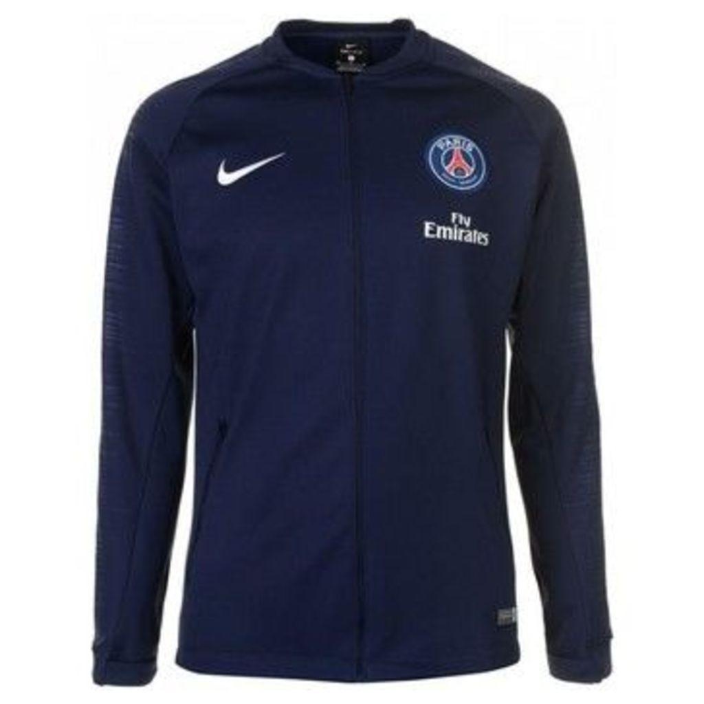 Nike  2018-2019 PSG Anthem Jacket  women's Tracksuit jacket in Blue