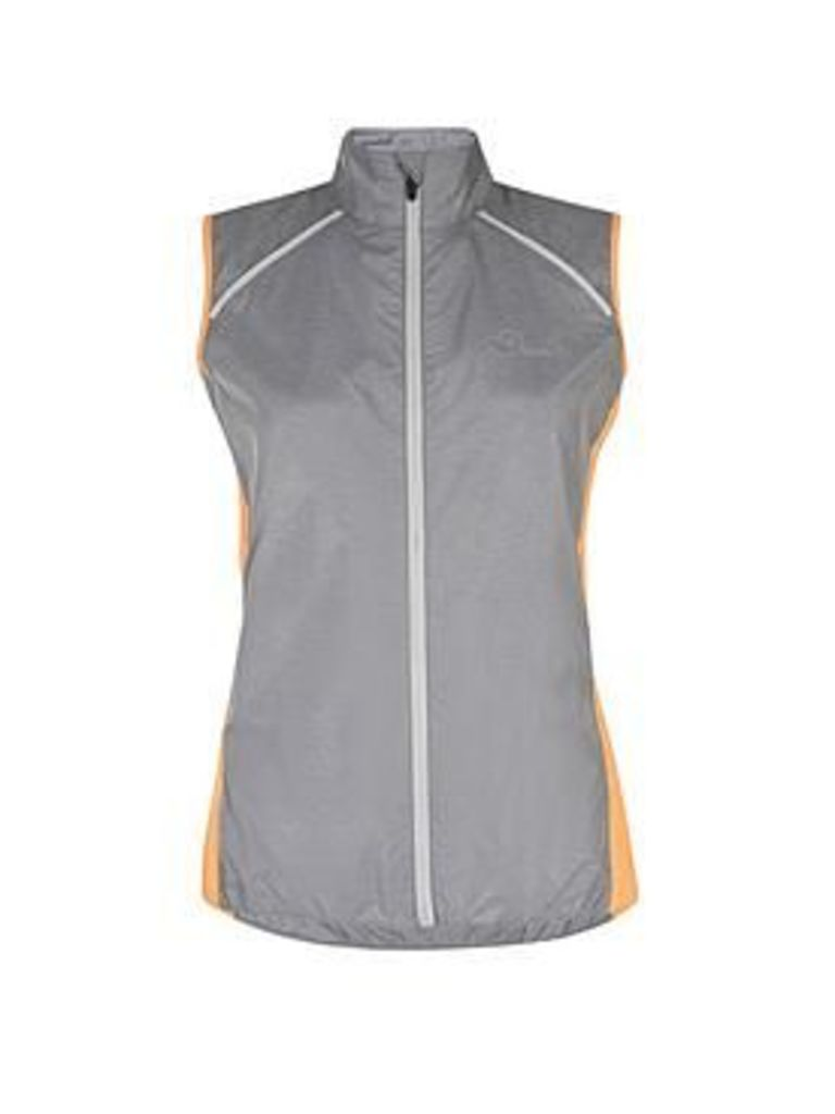 Dare 2B Unveil Ii Windshell Cycle Jacket - Grey