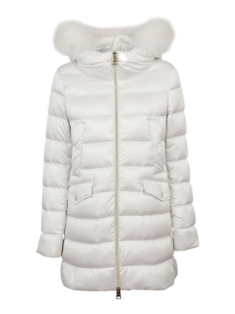 Herno Furred Hood Padded Jacket