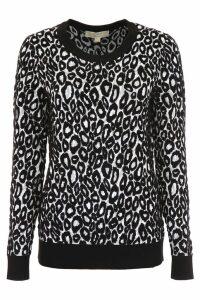 MICHAEL Michael Kors Leopard-printed Pull