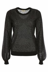 MICHAEL Michael Kors Lace Knit Top