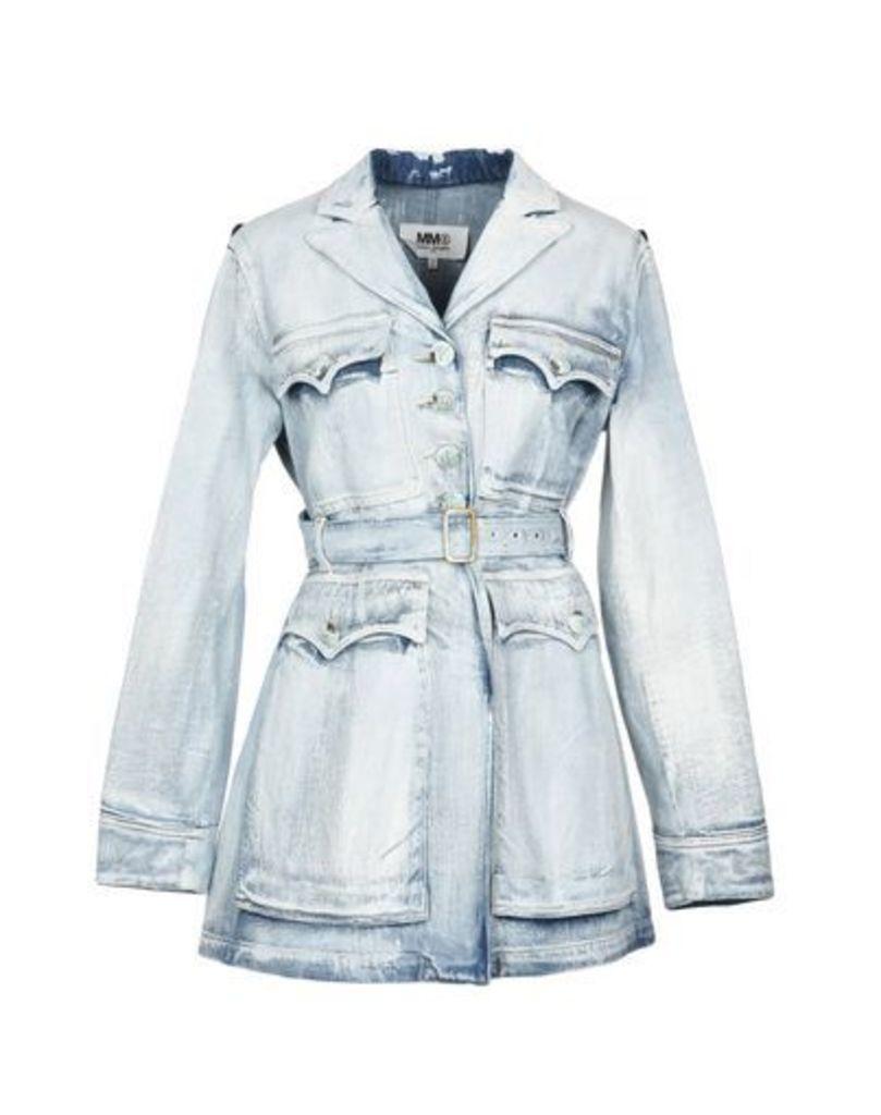 MM6 MAISON MARGIELA DENIM Denim outerwear Women on YOOX.COM