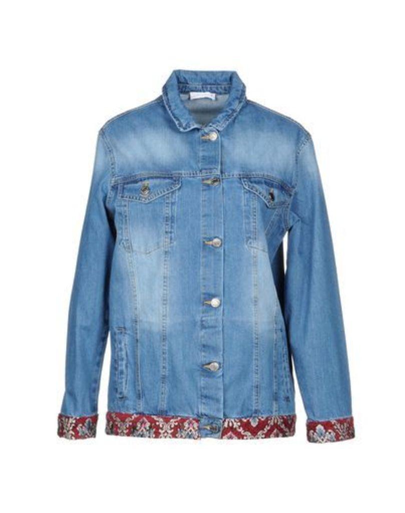 SIMONA-A DENIM Denim outerwear Women on YOOX.COM