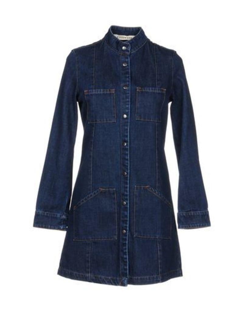 FOUDESIR DENIM Denim outerwear Women on YOOX.COM