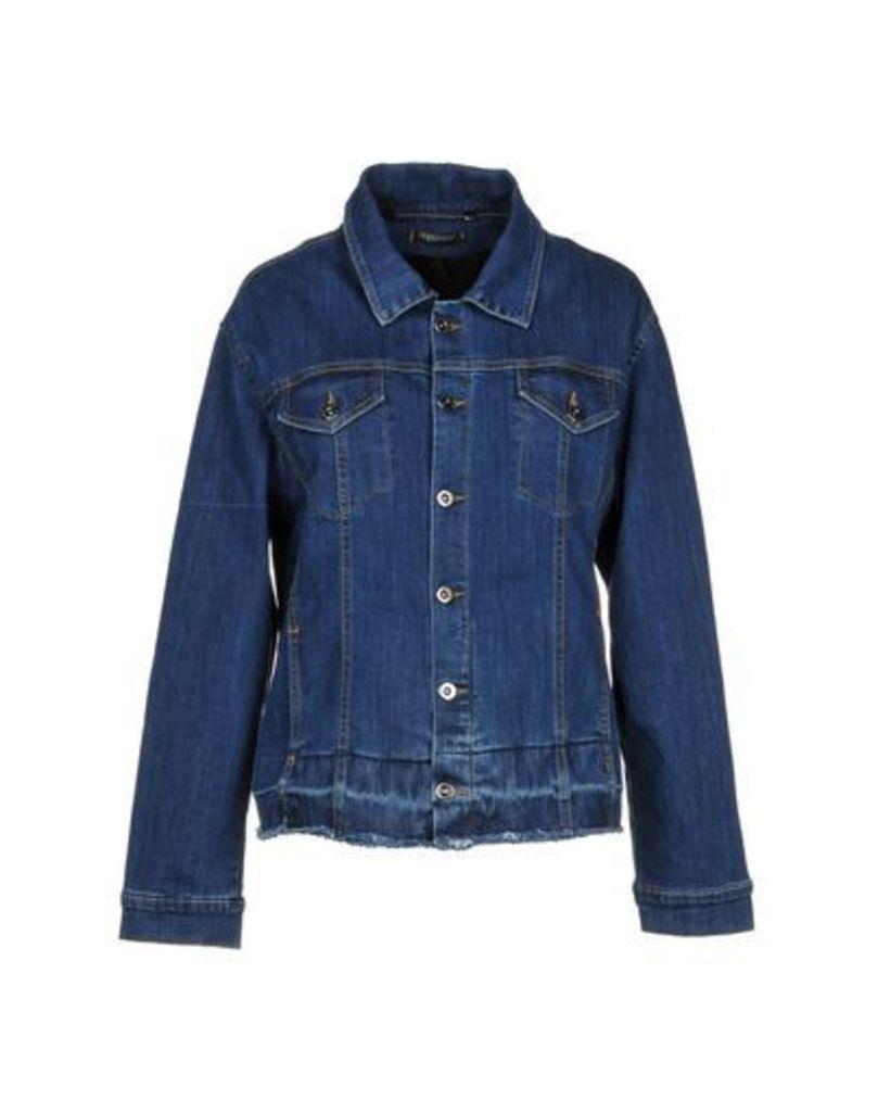 HAPPINESS DENIM Denim outerwear Women on YOOX.COM