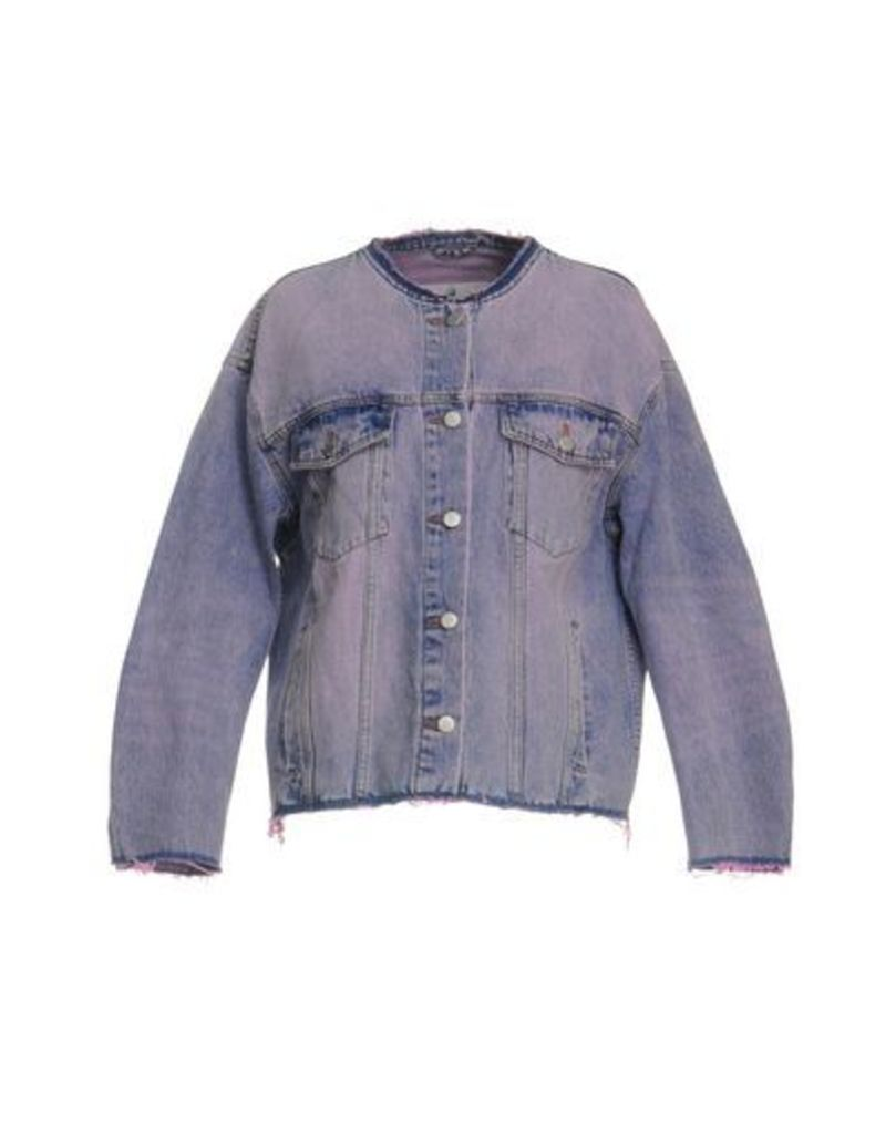 CHEAP MONDAY DENIM Denim outerwear Women on YOOX.COM